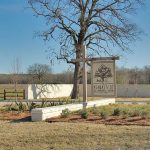 The Grove at Garrett Farm Gated Entrance Sign