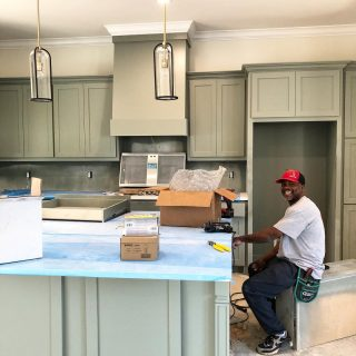 One of our favorite electricians working on a new home at The Grove! Meet Joe with G&S Electric! He has a bright 💡 smile and heart! Thank you for all you do Joe! #shreveporthomes #shreveportrealestate