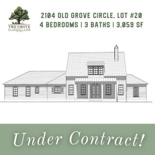 🌟Under Contract!🌟 This expertly designed modern farmhouse has found its first homeowner! 2104 Old Grove Circle is under construction and our new residents will join us at the end of the year. Congrats!   Missed out on this one? The new home being built on Lot 22 / 2112 Old Grove Circle will also be ready in December! Check it out on our website: 3 Bedrooms, 2.5 Baths, 3 Living Spaces + Bonus Room, 2,589 Square Feet.   🏡 https://grove318.com/available_homes/2112-old-grove-circle-lot-22/   #Shreveport #ShreveportLA #ShreveportRealEstate #Shreveporthomesforsale #Shreveporthomes #Newhomesforsale #Newhomeconstruction #shreveportnewhomes #grove318 #shreveportrealtors #shreveportrealtor #shreveportbossiercity