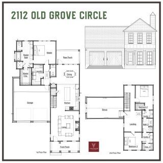 Happy Saturday! This floor plan for 2112 Old Grove Circle offers three living spaces including finished 24′ x13′ bonus room! Come see the construction progress this weekend. This gorgeous house is scheduled to be move-in ready this December. Wouldn't a new home be the ultimate gift? 🎁  Beds:3 Bath:2.5 Sq Ft:2589  All the details are online (tap link in bio) or call 318-683-0399: https://grove318.com/available_homes/2112-old-grove-circle-lot-22/   #Shreveport #ShreveportLA #ShreveportRealEstate #Shreveporthomesforsale #Shreveporthomes #Newhomesforsale #Newhomeconstruction #shreveportnewhomes #grove318 #shreveportrealtors #shreveportrealtor #shreveportbossiercity