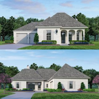 It's This-or-That Tuesday! Which one would you choose to build at The Grove? 🏡 The top option is the Burford (4 beds, 3 baths, 2282 SQ FT). 🏡 The bottom design is the Marshfield (3 bedrooms, 2 baths, 1795 SQ FT). It's a tough choice! You can view the floor plans in detail on our website if you need a little help!#shreveporthomesforsale #shreveportrealestate #shreveportrealtor #buildwithus
