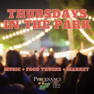 Tonight down the road in Provenance! Thursdays in the Park 4-8 PM in Greenleaf Park!  Opening 🎶 Jesse Rawlinson Headliner 🎶 Joe Nadeau Band Food Trucks: Prissy's Emergency Pizza Service and Dripp Donuts! Vendor List:  Be Golden Jewelry McGehee's Bees & Art Apiary LLC Wonderfully Made Cookie Kits Healing Water's Candles Kelly Schmidt Originals  Cotton Candy Crush Bracelets4George Rosepointe Fare, LLC Mimi's Meat Tamer  Epilogue Soaps Homegrown -  IN A JAR This Lamb Quilts Terry MacDowell Jessie's Produce Glory and Grace Splendid Tea Co./pics Riefler Co. Whole Hart Books  WalkByfaith TribeGypsy #shreveportevents #shreveporteats #eat318 #shreveportmusic